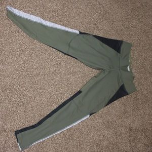 PINK Olive Green Legging